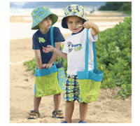 Wholesale 2015 Children Kids cm cm Sand Away Beach Bag Mesh Tote Organizer Toy Treasures Bags for Sea Shell Storage Bags Mommy s Helper