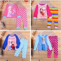 baby toddler sleepwear underwear - Christmas Frozen Child Pyjamas Kids Sleepwear Children Clothing Boy Girl Baby Pajamas Childrens Sleepwear Kids Underwear Toddler Pajamas new