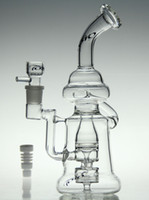 oil - bong glass recycler toro new quot glass bong oil rig diamond glass pipe with Ceramic nail and toro bowl mm joint