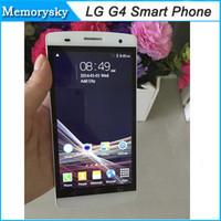 5,5 pouces G4 1: 1 Unlocked Phone MTK6572 Dual Core 1.3GHz 512MB RAM 4Go ROM Dual SIM 5MP + 5MP appareil photo Smart Phone 3G GPS WCDMA Andriod 002818