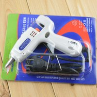 Wholesale High quality W Adjustable Hot Melt Glue Gun Minitype fit for mm Glue stick