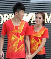li ning - New arrival The Latest LI NING CHINA S National uniform Table Tennis Clothes Men table tennis t shirt