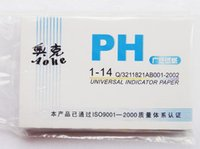 Wholesale Hot Sell Set PH Meters PH Test Strips Indicator Test Strips Paper Litmus Tester Brand New Measurement Analysis Instruments
