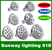 led bulb light 9w e27 - Dimmable Led bulb par38 par30 par20 W W W W W W E27 par LED Lighting Spot Lamp light downlight