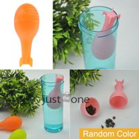 Wholesale Trendy Cool Unique Atomic Bomb ABS Tea Leaf Filter Strainer Herbal Spice Infuser