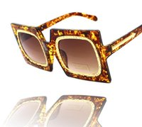 Wholesale New Style Exaggerated Personality And Fashion Square Sunglasses Fashion Sunglasses Colors