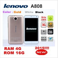 Wholesale 2015 new octa core Lenovo phone mtk6592 GROM GRAM G GPS MP quot CHINA mobile smart cell phones android unlock bluetooth headset