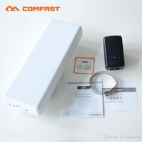 Wholesale 2 Ghz WIFI Signal Booster Amplifier GHz WIFI Outdoor Wireless Router CPE G B NCOMFAST CF E214N