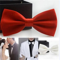 Wholesale 2014 New Stylish Bridegroom Bow Tie for Wedding TUXEDO BOW TIE