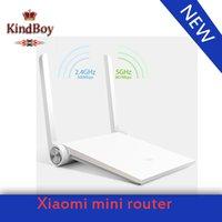 mini wifi router - 2015 brand mi Xiaomi router White wifi router ac wireless MT7620A MB G G dual band ac antenna smart mini router