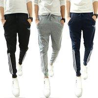 best sweatpants for men - BEst Joggers Crotch Harem Pants Hip Hop Sweatpants Men for Dance Sports Pants