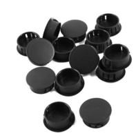 Wholesale Black Plastic mm Diameter Push Locking Hole Plugs Button Covers