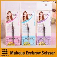 3 styles de maquillage sourcils ciseaux avec tête pointue femmes en acier inoxydable sourcil beauté outil de maquillage légèrement courbé manucure coupe de cuticules