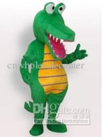 Wholesale 2014 hot sale fashion crocodile Mascot Costume halloween Mascot Costume Fancy Party Dress Cartoon Costume