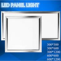 Wholesale Square LED Panel light x300 w x600 w w x1200 w w x600 w w x1200 mm w Warm Cold White Ceiling Lights