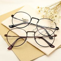 Wholesale 2016 New arrival Metial Thin Frame Reading women men optical frame vintage Eyeglasses glasses Frame Eyewear Clear Lens D915
