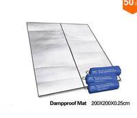 foam insulation - Dropshipping cm Aluminum Backing Insulating Insulation Foam Camping Mat Blanket Cushion Pad for Camping Hiking