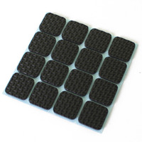 Wholesale New Square Shock Pads Furniture Protection Pads Anti Vibration Feet Tailorable Non slip Adjustment Mat