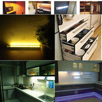 kitchen cabinet - High Sensitivity LED Under Cabinet Light PIR Motion Sensor Lamp Kitchen Wardrobe Cupboard Closet cm H9986