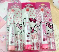 Wholesale Students toothbrush hello kitty health electric toothbrush cartoon children sonic electric toothbrush cheaper price model