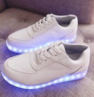 beautiful light fittings - 2015 women beautiful shoes with glowing lights of the LEDs light shoe sole new styling of the LED neon adults loose fitting shoes