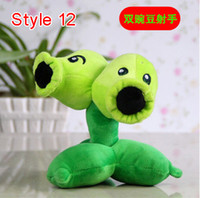 Wholesale 6 Styles Plants vs Zombies Plush Toys cm Plants vs Zombies Soft Stuffed Plush Toys Doll Baby Toy for Kids Gifts Party Toys