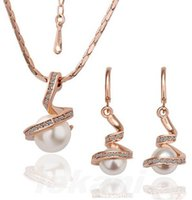 Cheap Earrings & Necklace jewelry sets Best Pearl,Mother-of-Pearl Silver Plate/Fill necklaces earrings