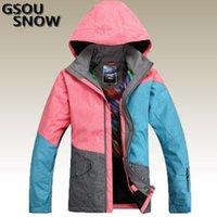 Wholesale Gsou snow New arrival skiing jacket women snowboard ski suit snow jackets women ski jacket Waterproof windproof