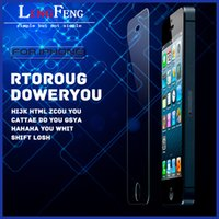 Wholesale For iphone Plus inch Premium Real Tempered Glass Film Screen Protector Explosion Proof Guard for iPhone6 Galaxy S6