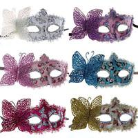 alaska flower - Halloween masquerade mask Dian Wayne Alaska flower factory direct
