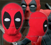 Wholesale New Deadpool mask Cosplay Costume cotton Rib fabrics X men