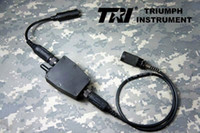 Wholesale Hot Selling TRI G Switch II Tactical Waterproof PTT for TRI AN PRC