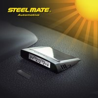 solar energy system - Steelmate DIY TP S2 Big Solar Energy Tire Pressure Monitoring System LCD Wireless Display External Sensor Mini USB Charging Car Styling