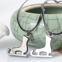 Wholesale Factory Direct Buying From China Personality Style Boots Plated Necklace Couple Models Small Jewelry One Pair Price S42531