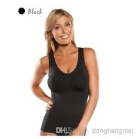 genie camishaper - 500pc CamiShaper by Genie Cami Shaper Body Slimmer Tummy Trimmer Slimming Shapewear With Removable Pads Z77
