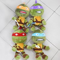 Wholesale 8 quot cm quot cm Teenage Mutant Ninja Turtles Toys Plush Doll Soft Stuffed TMNT Kids Soft Toys Birthday Gift