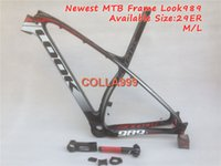 Wholesale 2015 latest er mtb frame mountain bicycle frame LOOK ER mtb bike carbon frame fit for PF30 adapter to BB30 or BB68