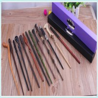 albus dumbledore wand - Wholesales16 Styles Best price Deluxe Harry Potter Albus Dumbledore Lord Voldemort Hogwarts Magic Magical Wand Wizard