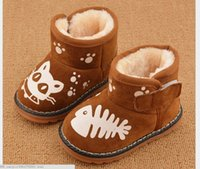 baby riding boots - Keep warm Children Snow boots Waterproof Kids Winter shoes Boys Girls Riding Equestrian Baby shoes Ankle boots