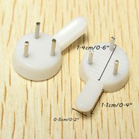 Wholesale 50pcs Wedding Photo Digital Non trace Nail Frame Wall Hooks Picture Hanger Solid Wall Peg Stealth