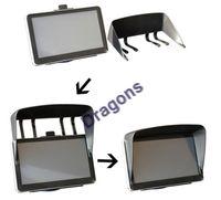 Wholesale Black inch Car GPS Sunshade GPS Suction holder Mount SUNCAT GPS Navigator Sunshine Shield Pannel
