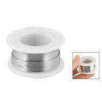 Wholesale FS Hot Flux mm Diameter Tin Lead Soldering Rosin Core Wire Silver Tone order lt no track