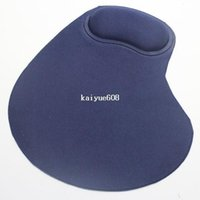 comfort mouse pad - 1PCS Wrist Comfort Mice Mouse Pad Mat Mouse Pad For Optical Trackball Mouse Blue