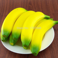 Wholesale Christmas gifts Jumbo Squishy Soft Banana Decorations Hand Pillows Simulation Food Toy Collectible Restaurant Decor