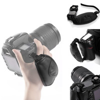 Wholesale DSLR Camera Leather Grip Wrist Hand Strap for Canon Nikon Sony Olympus SLR DSLR Leather Soft Hand Grips straps