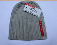Wholesale color men women Brand cap wool hat warm hat knitted hat with logo