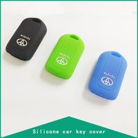 Wholesale Silicone Car Key Cover for Toyota Carmy COROLLA EX VIOS HIGHLANDER REIZ COROLLA CROWN YARIS Car Covers