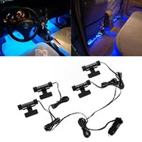 Wholesale High Quality Blue in1 V x LED car Interior light Decorative Atmosphere Light Lamp