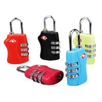 Wholesale Fashion Mini Digit Metal Password Lock Suitcase Padlock Luggage Protector Travel Luggage Padlocks