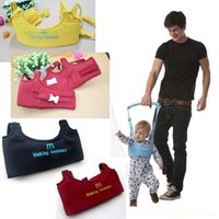 Wholesale Child Infant Walking Harness - New Popular Infant Child Kid Baby Walker Learn Walking Assistant Trainer Gear Safety Harness Belt Rein